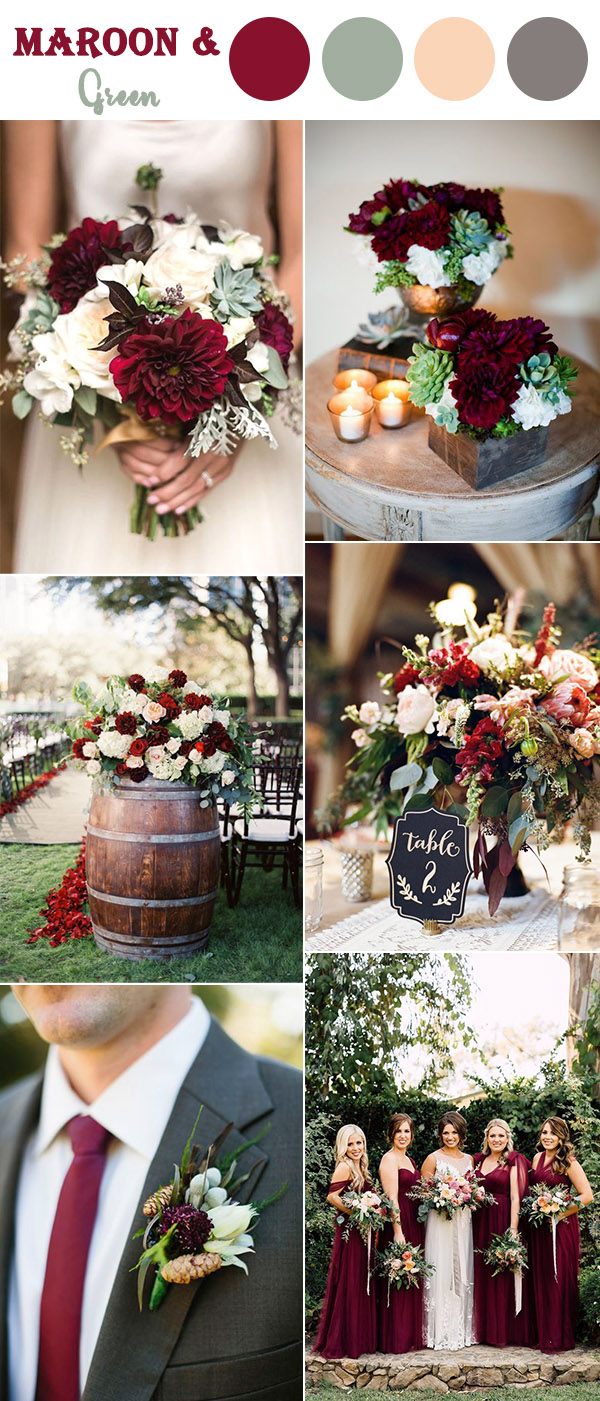 The 10 Perfect Fall Wedding Color Combos To Steal