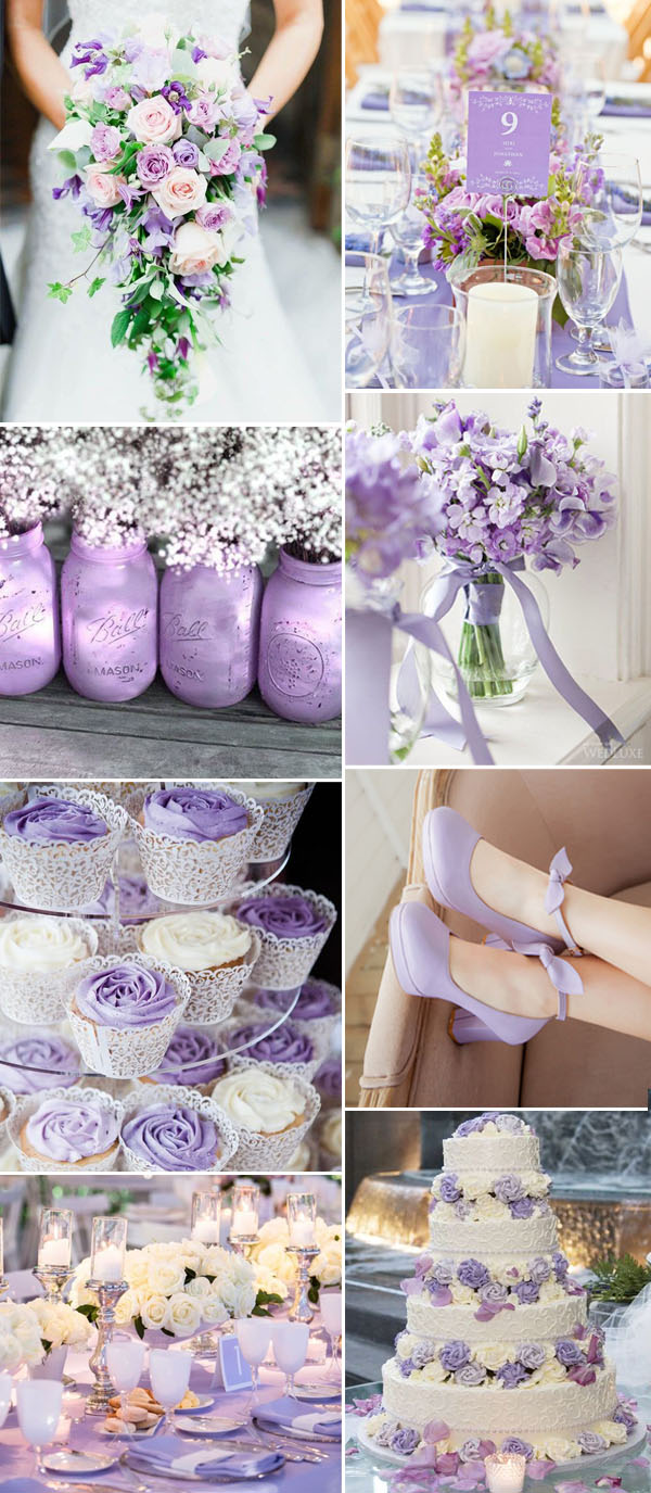 wedding ideas lavender 5 fabulous shade of purple wedding color ideas 28237