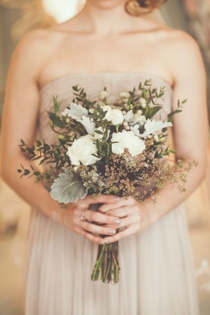 dried grasses, wheat rustic fall wedding bouquet