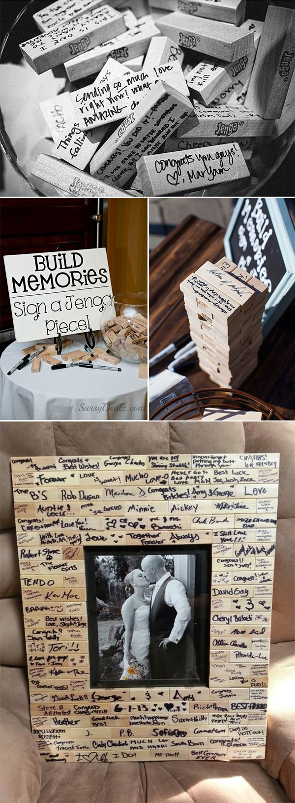20 Must-See Non-Traditional Wedding Guest Book Alternatives
