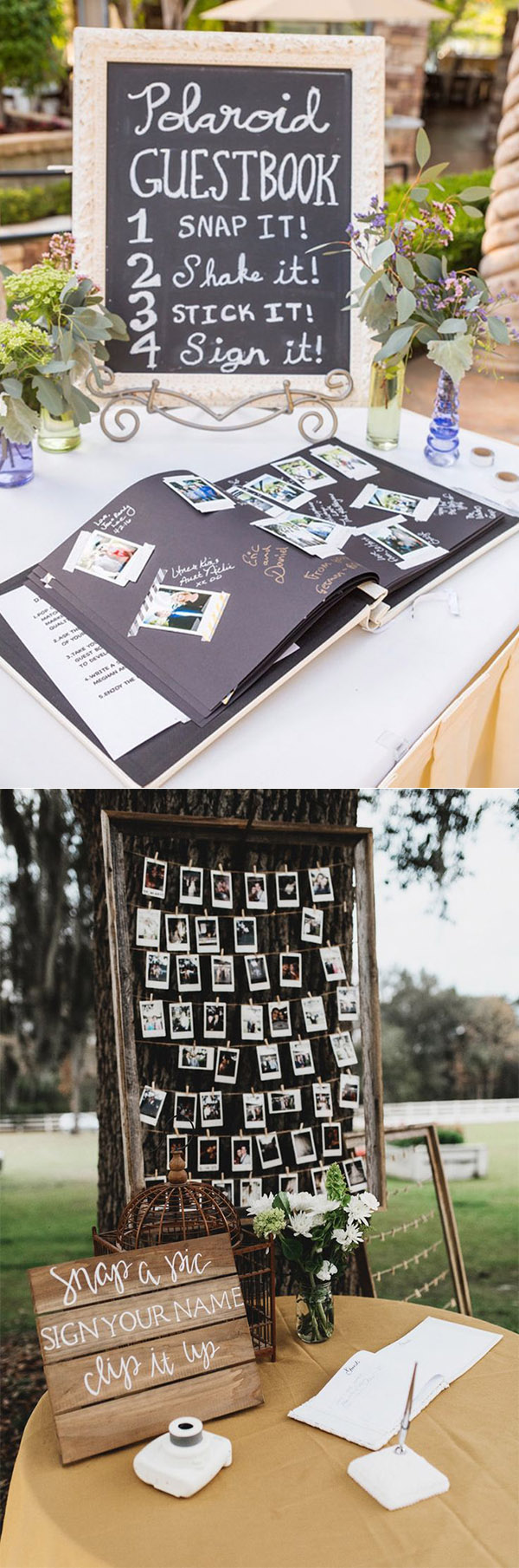 20 Must-See Non-Traditional Wedding Guest Book Alternatives ...
