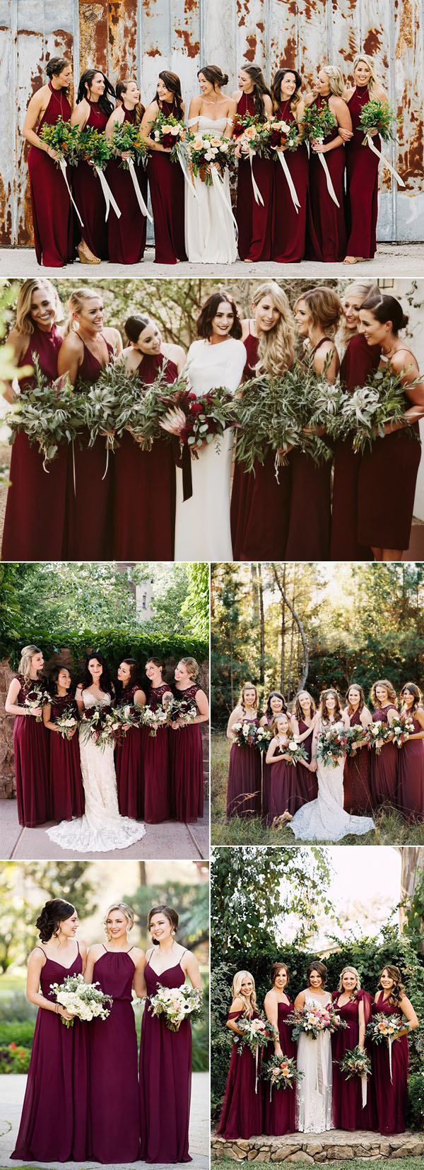 50+ Refined Burgundy and Marsala Wedding Color Ideas for Fall Brides
