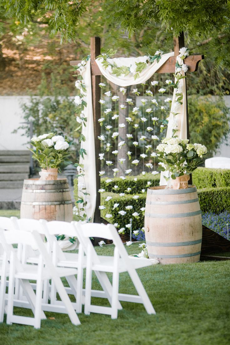25 chic and easy rustic wedding arch ideas for diy brides for Ideas for wedding pictures