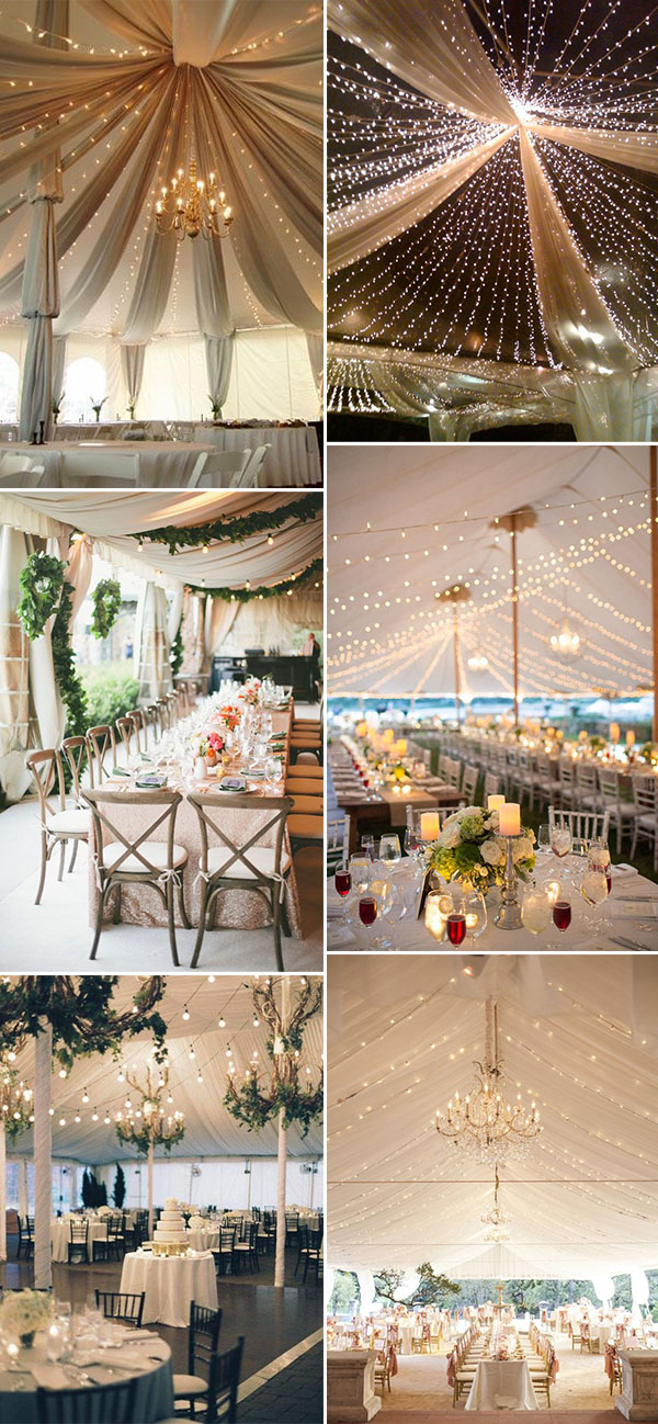 11 Fancy Tented Wedding Decoration Ideas to Stun Your Guests
