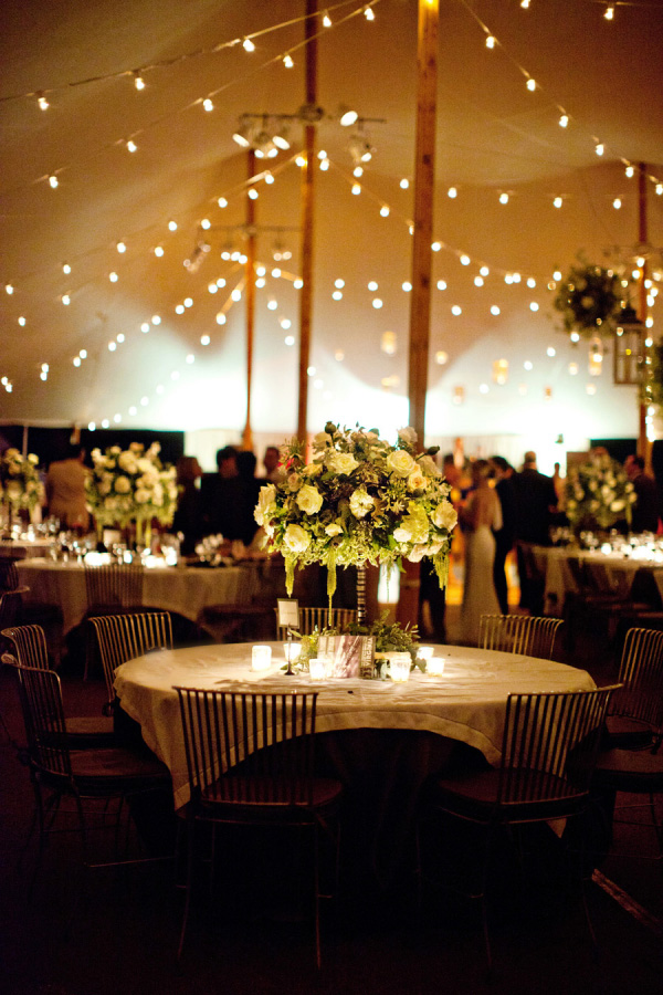 romantic rustic tented wedding lighting decor ideas