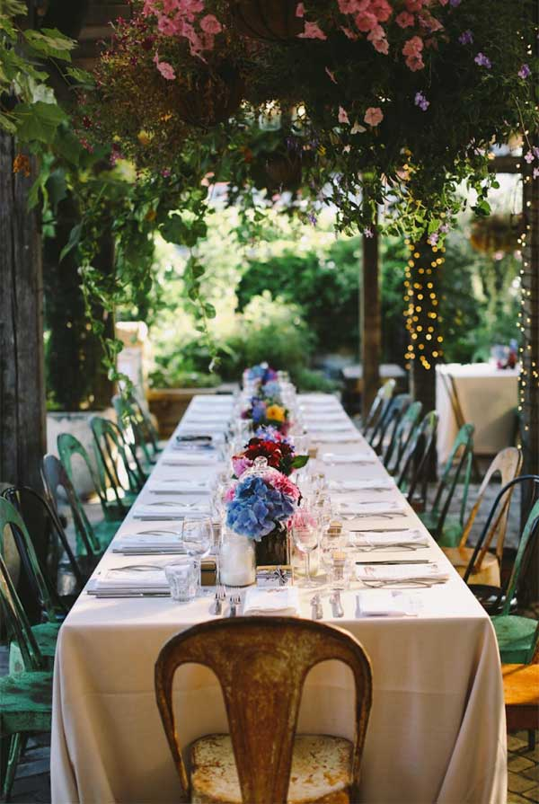 Aesthetic Secret Garden Wedding Filled With Blowsy Blooms