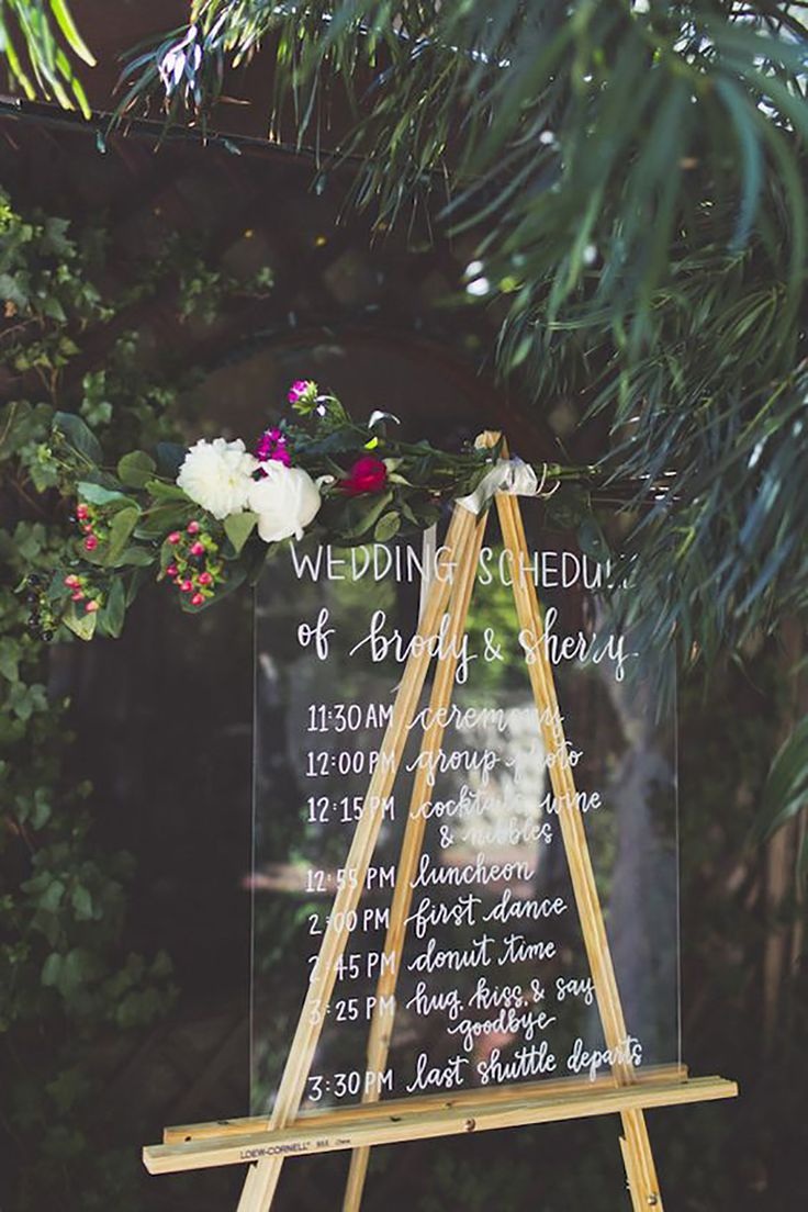 acrylic styling garden wedding decoration ideas