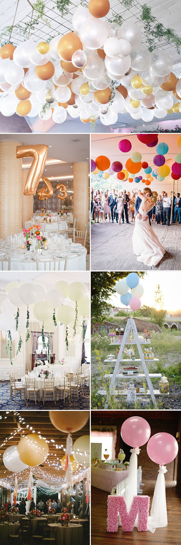 45 Creative Fun Ways To Incorporate Balloons Into Your Big Day