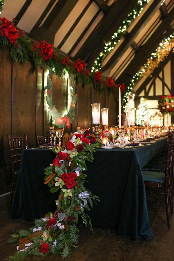 Awesome Winter Festival Barn Wedding Reception Ideas