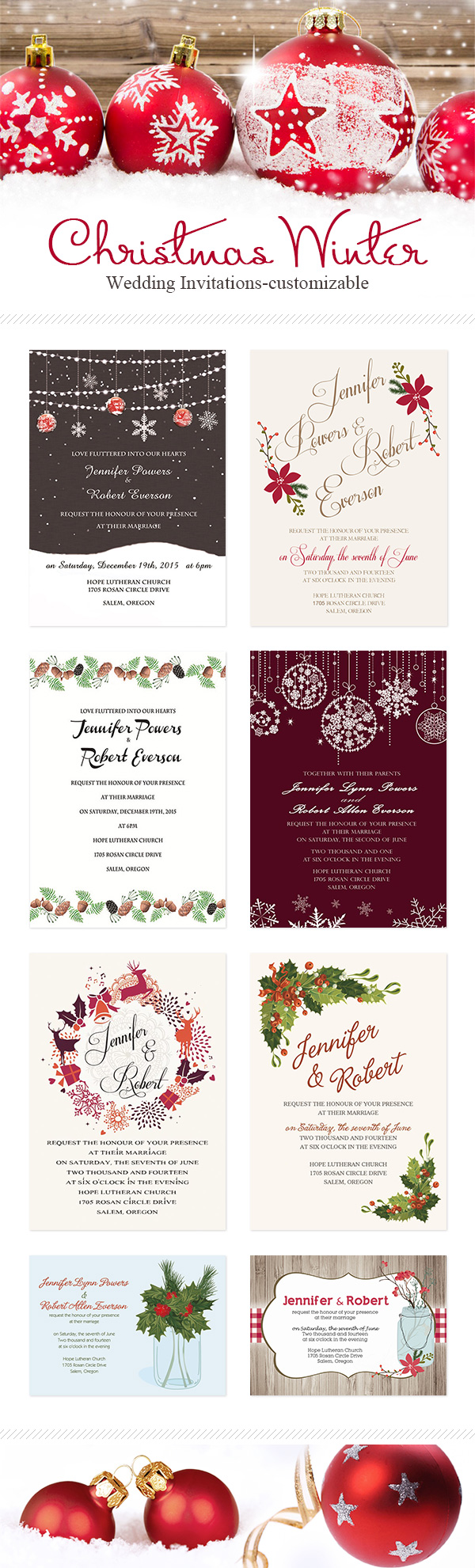 30 Awesome Winter Red Christmas Themed Festival Wedding Ideas ...