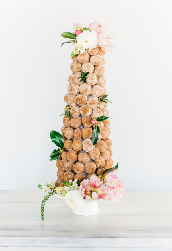 DIY Doughnut Wedding Cake Ideas