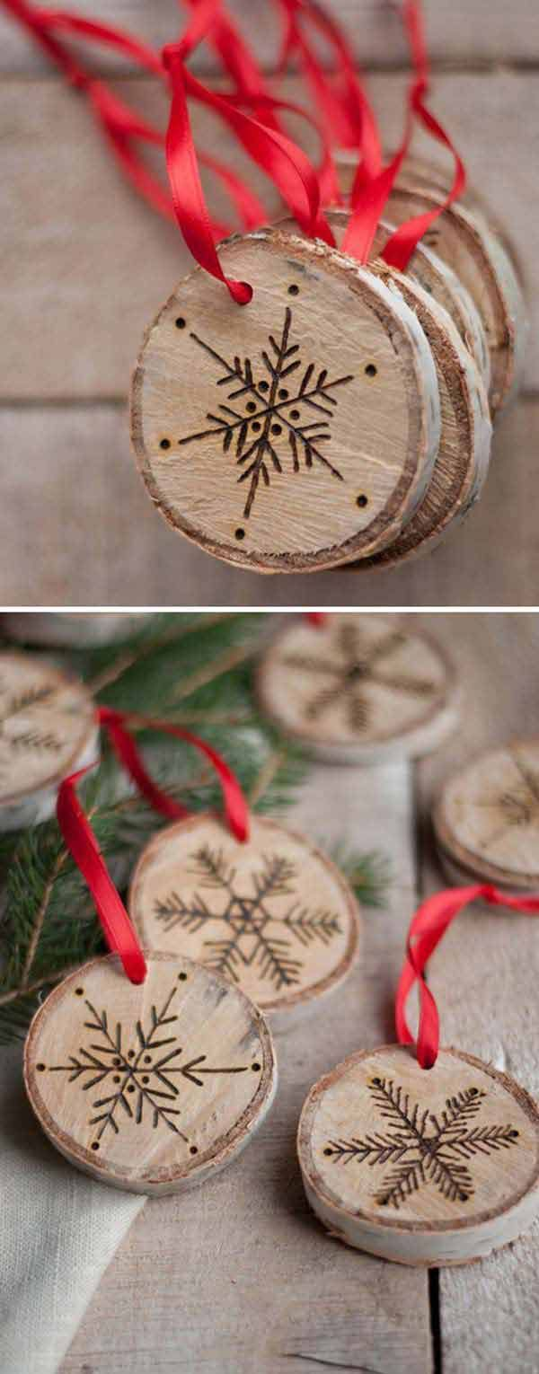 DIY Rustic Winter Festival Wedding Favor Ideas