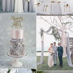 6 Amazing Grey Wedding Colors Inspired By Pantone Color Harbor Mist