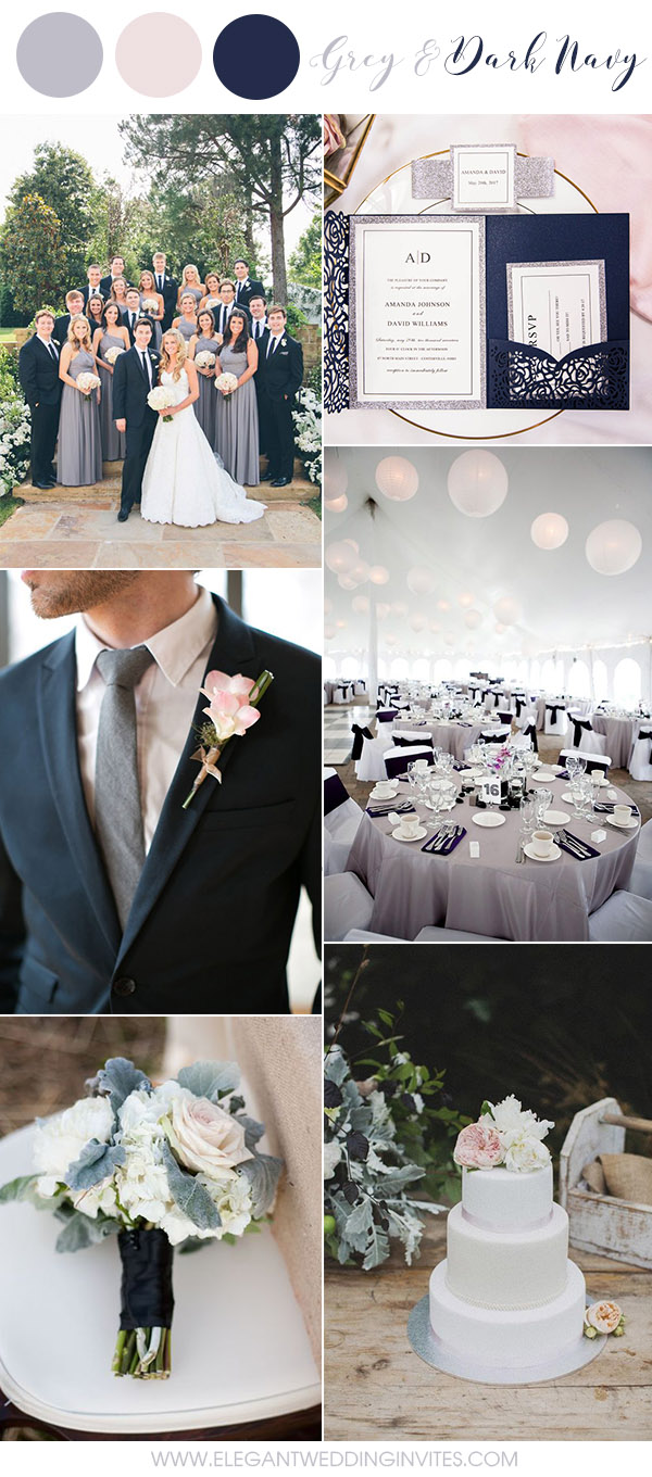 6 Amazing Grey Wedding Colors Inspired By Pantone 2018 Color ...