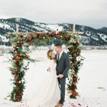 30 Awesome Winter Red Christmas Themed Festival Wedding Ideas