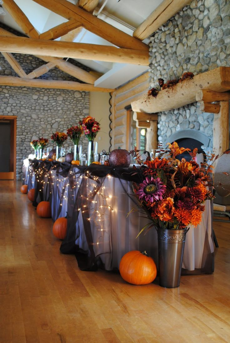 Pumpkin Halloween Themed Wedding Ideas