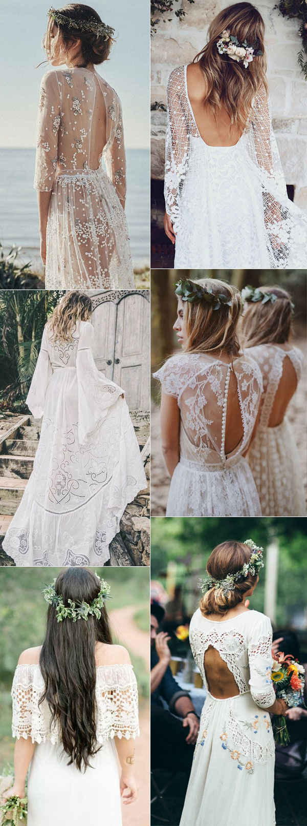 Tips to Plan Romantic Boho Weddings 2018