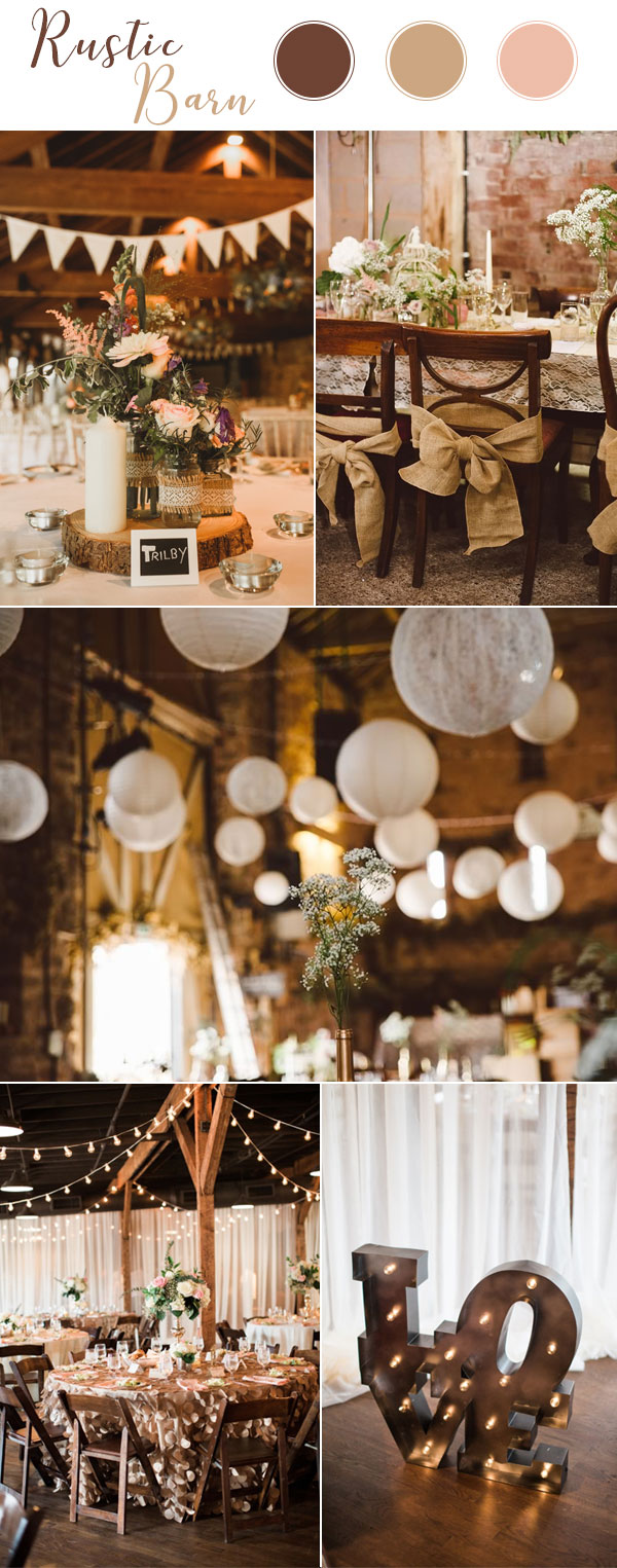 Rustic Barn Wedding Themes 2018
