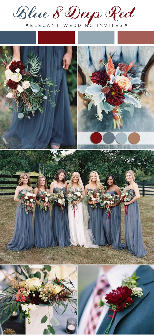 ea2d11a6fd Updated)Top 10 Wedding Color Scheme Ideas for 2018 Trends ...