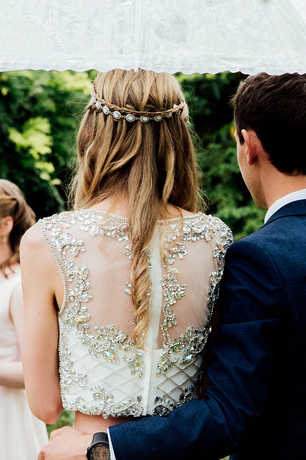 Classic Cascading Waterfall Braided Hairstyles for Weddings