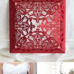 Popular Shades of Red & Burgundy Wedding Invitations from EWI 2017