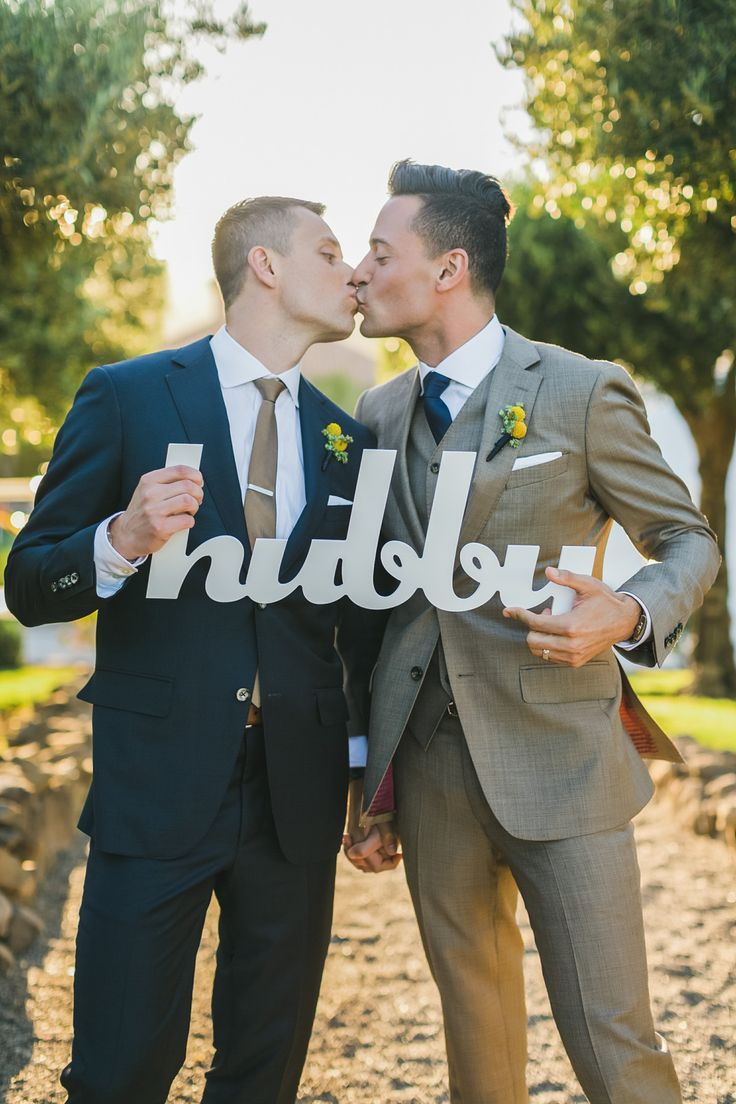Same Sex Gay Wedding Photo Ideas
