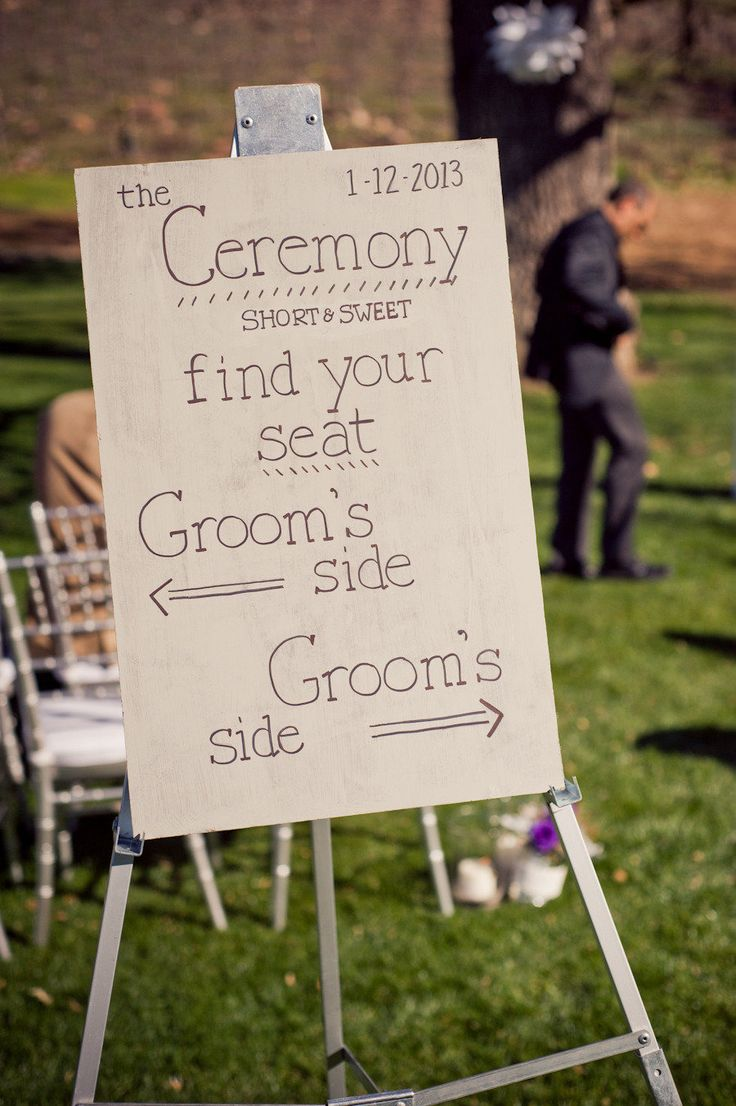 Same Sex Wedding Sign Board Ideas