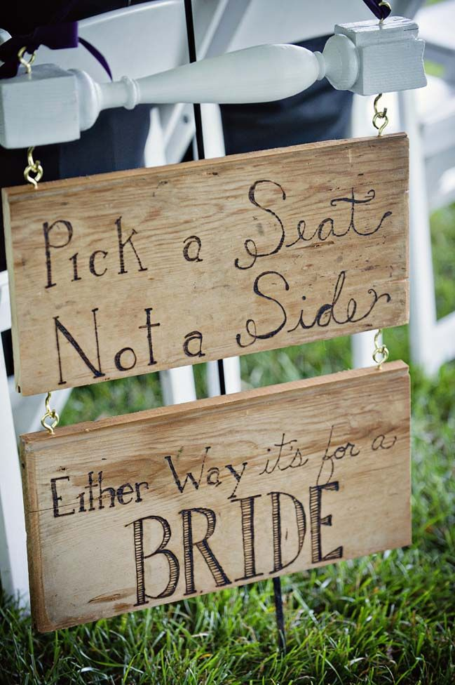 Same sex Marriage Wedding Ceremony Signage Ideas for Lesbian Couples