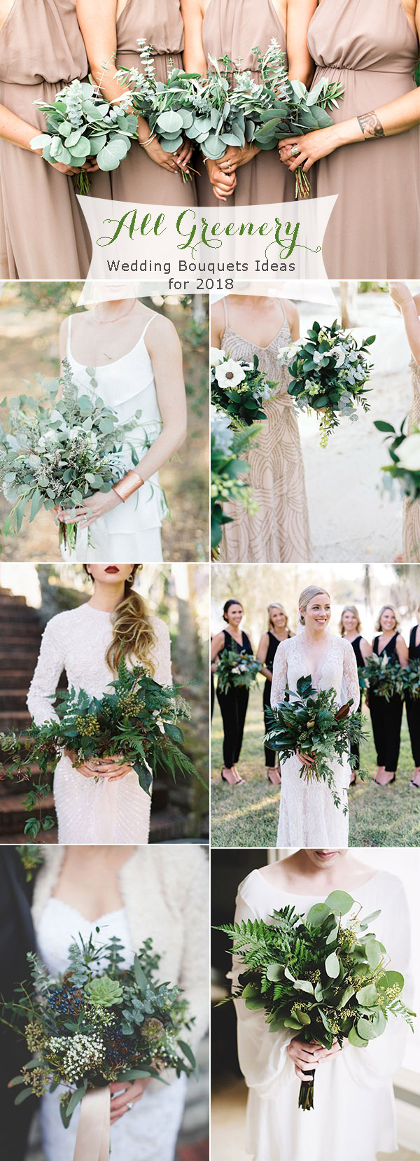 Trendy greenery wedding ideas for 2018 brides for Wedding greenery ideas