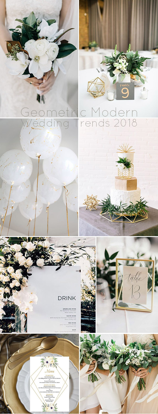 5 Big Modern Wedding Decoration Trends for Brides to Follow in 2018 ...