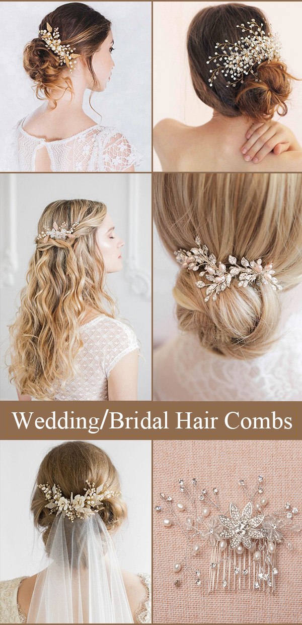Popular Hair Combs Ideas for All Brides