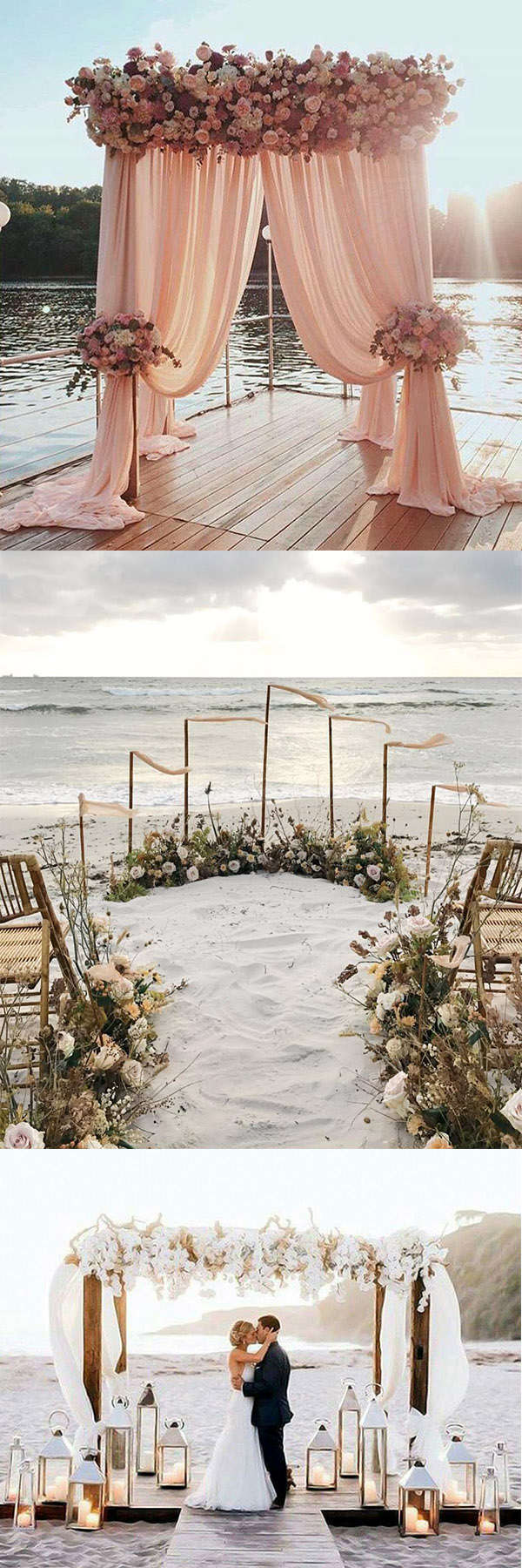 Stunning Beach & Seaside Wedding Arch Ideas