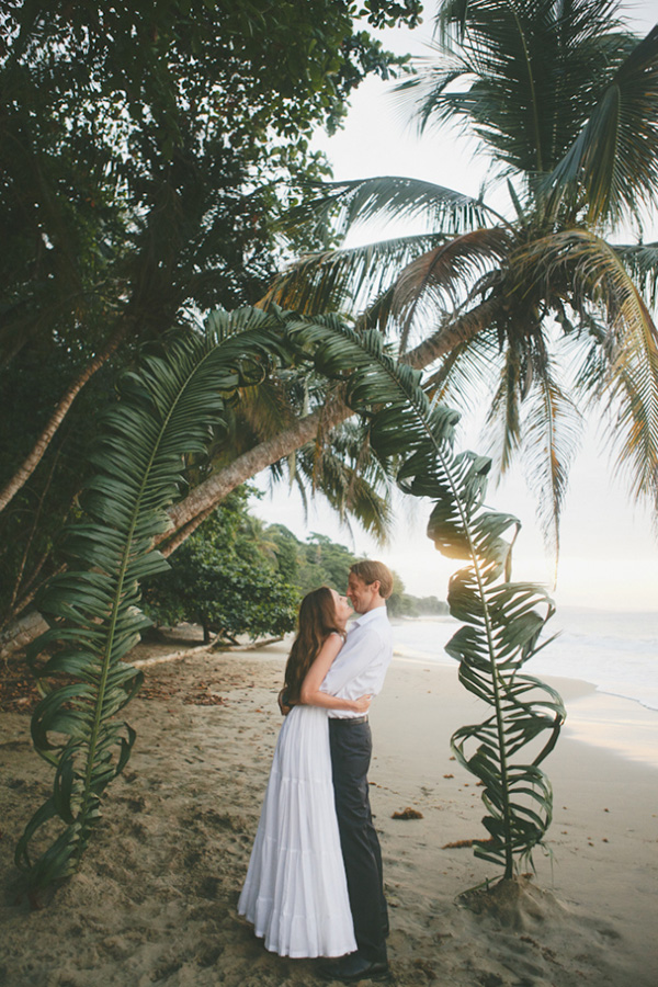Tropical Seaside Wedding Ceremony Ideas