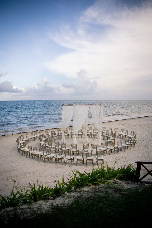 Unique beach wedding decorations