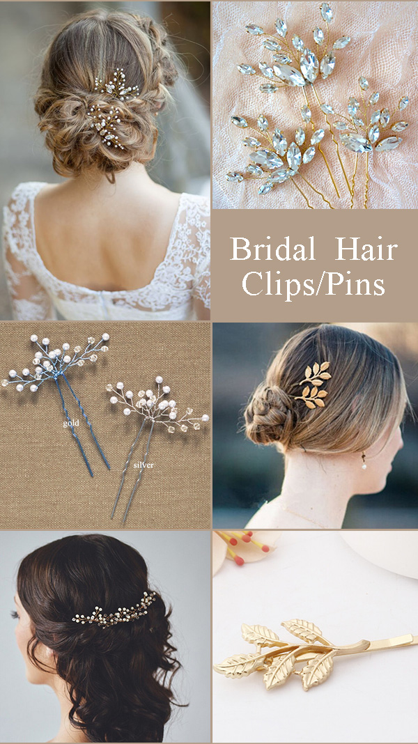 Wedding Hair Clips and Pins Ideas