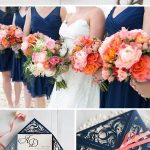 The Latest Navy Blue Wedding Invitations from Elegant Wedding Invites
