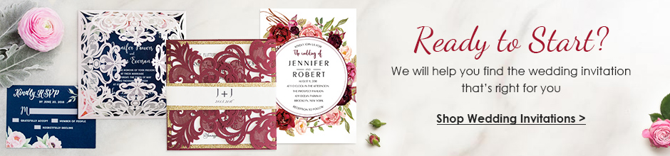 order wedding invitations online