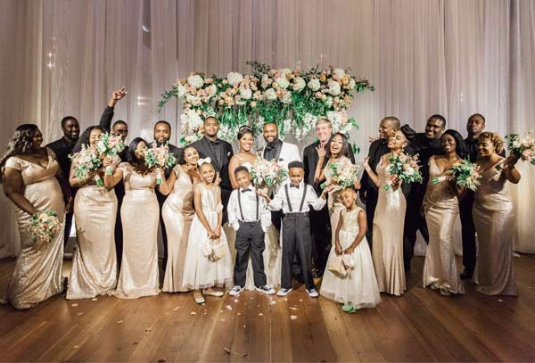 Alicia & Rickey's Dreamy Luxury Wedding 11
