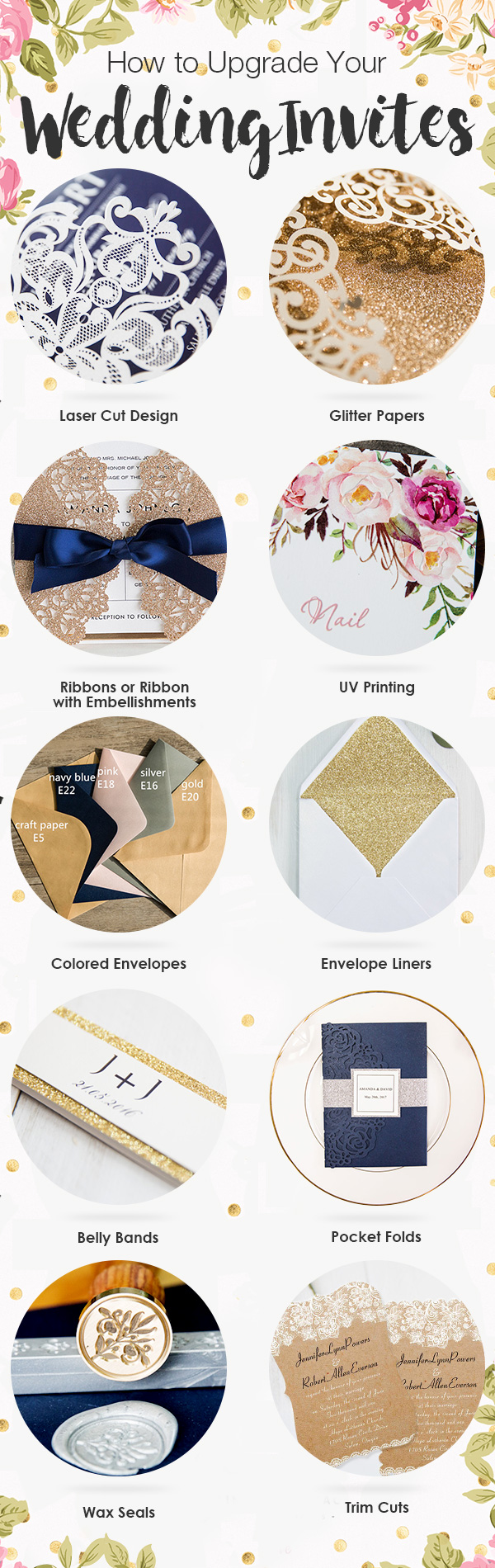 Creative Ways to Upgrade Your Wedding Invites