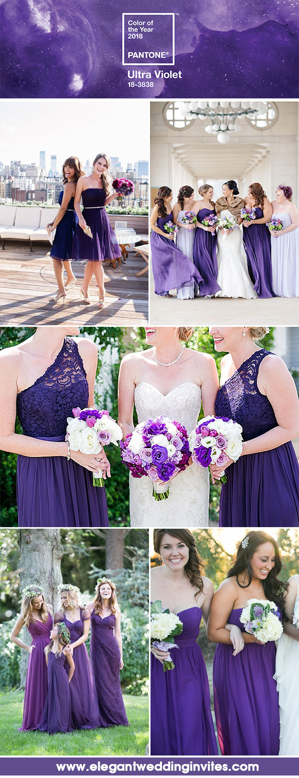 Wedding Color Ideas Inspired by Pantone Color of the Year 2018 ...