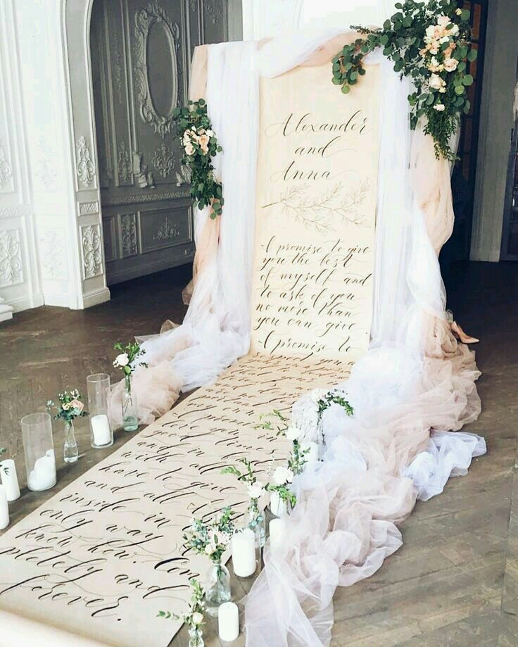 Lovely fairytale wedding ceremony decoration ideas