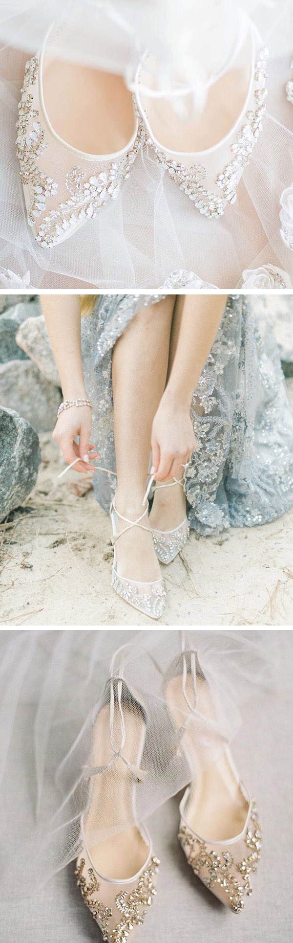 86c43cc3a1c6 Elegant glittery wedding shoes from Bella Belle shoes