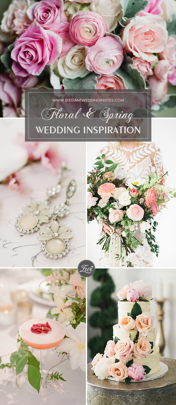 Floral Wedding Décor Ideas for Spring 2018