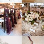 8 Beautiful Wedding Color Ideas In Shades of Red, Wine and Burgundy