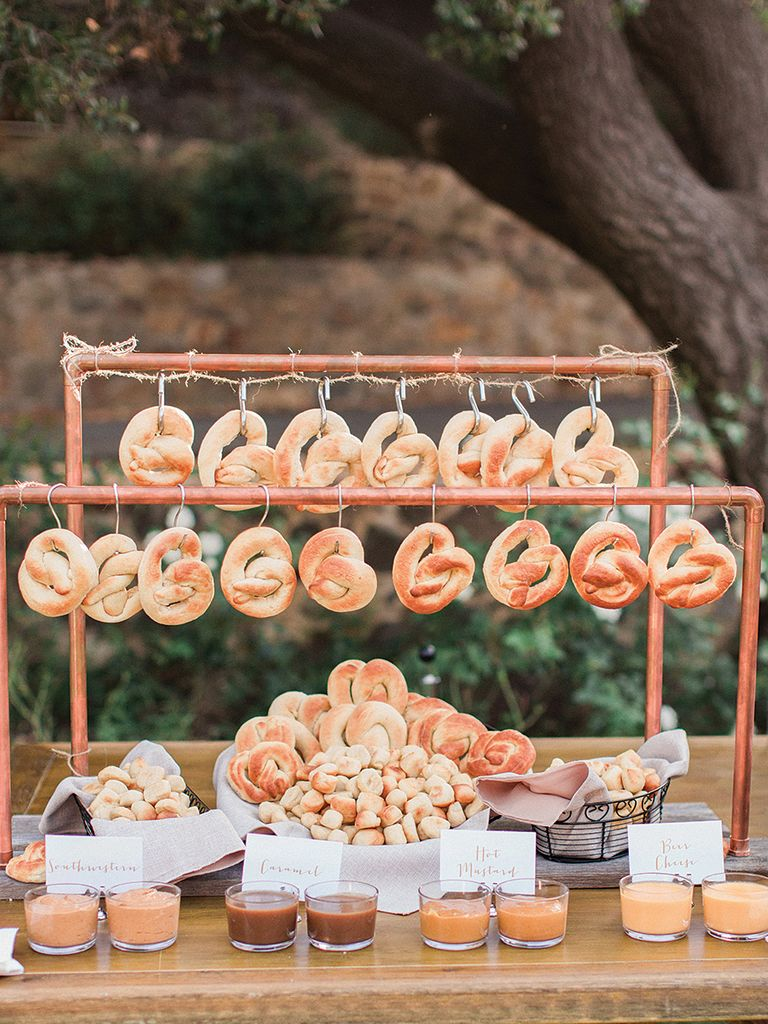 Smart diy dissert table wedding ideas