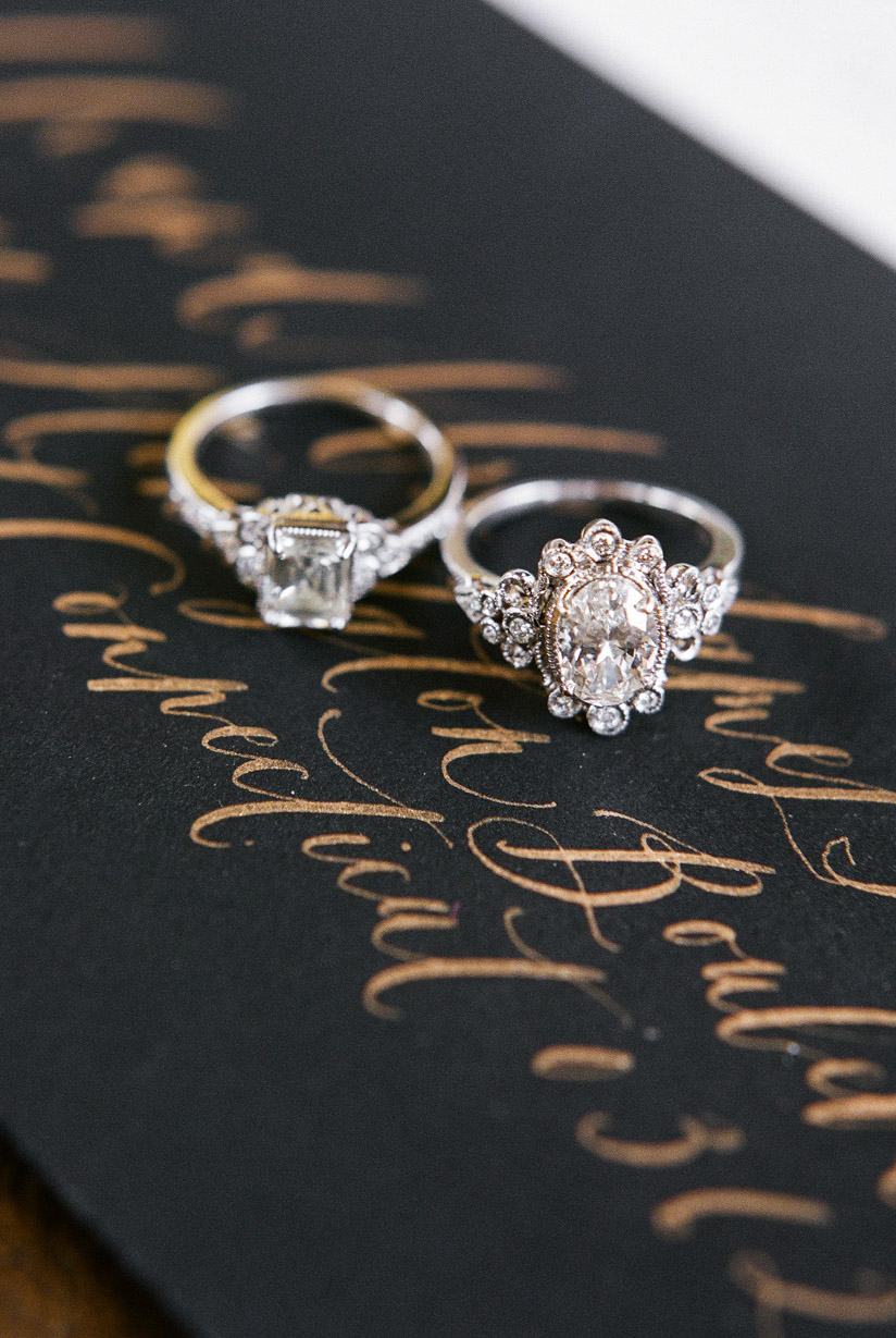 Vintage inspired engagement rings ideas