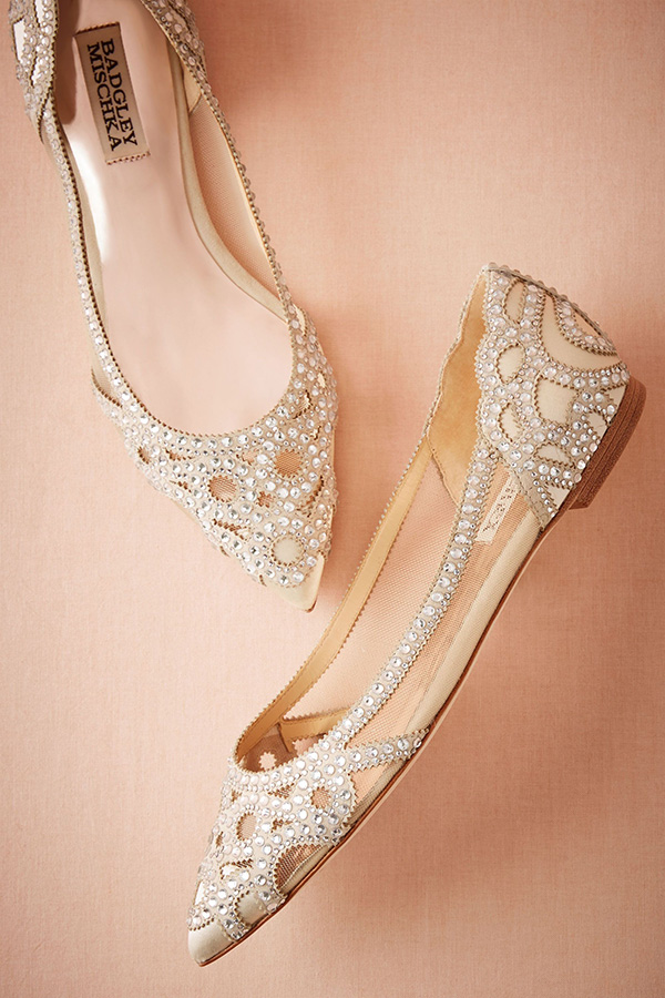 20 Stunning Jeweled Wedding Shoes For All Brides