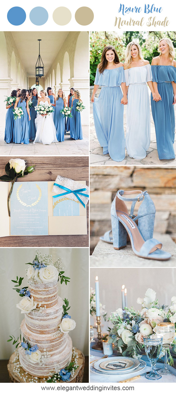 10 Prettiest Blue Wedding Color Combos for 2018 ...