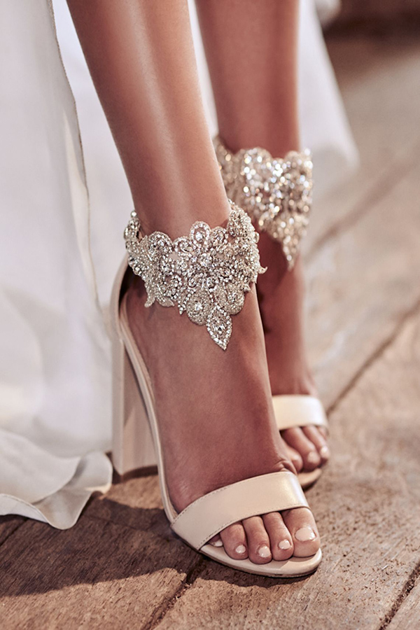 Beautiful Jewel Bridal Shoes To Match Your Wedding Dresses