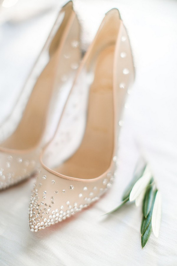 fancy wedding shoes 20 stunning jeweled wedding shoes for all brides 4048
